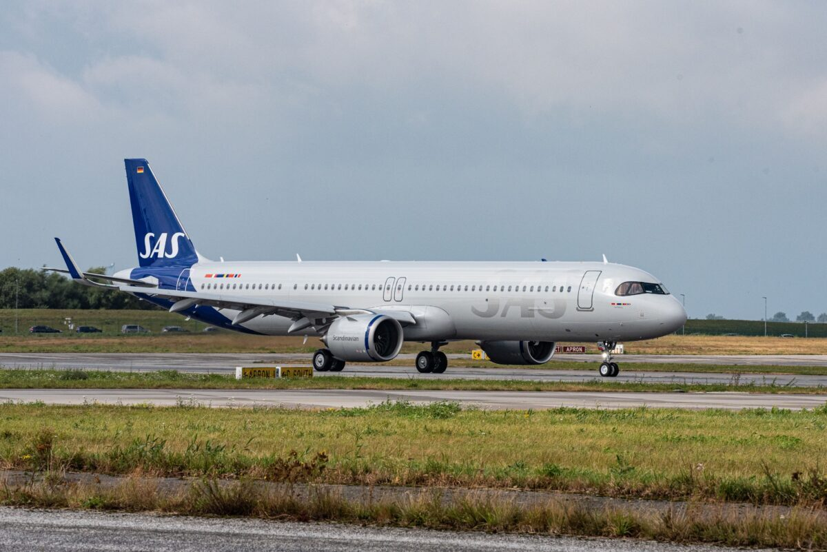 A321LR SAS Scandinavian Airlines
