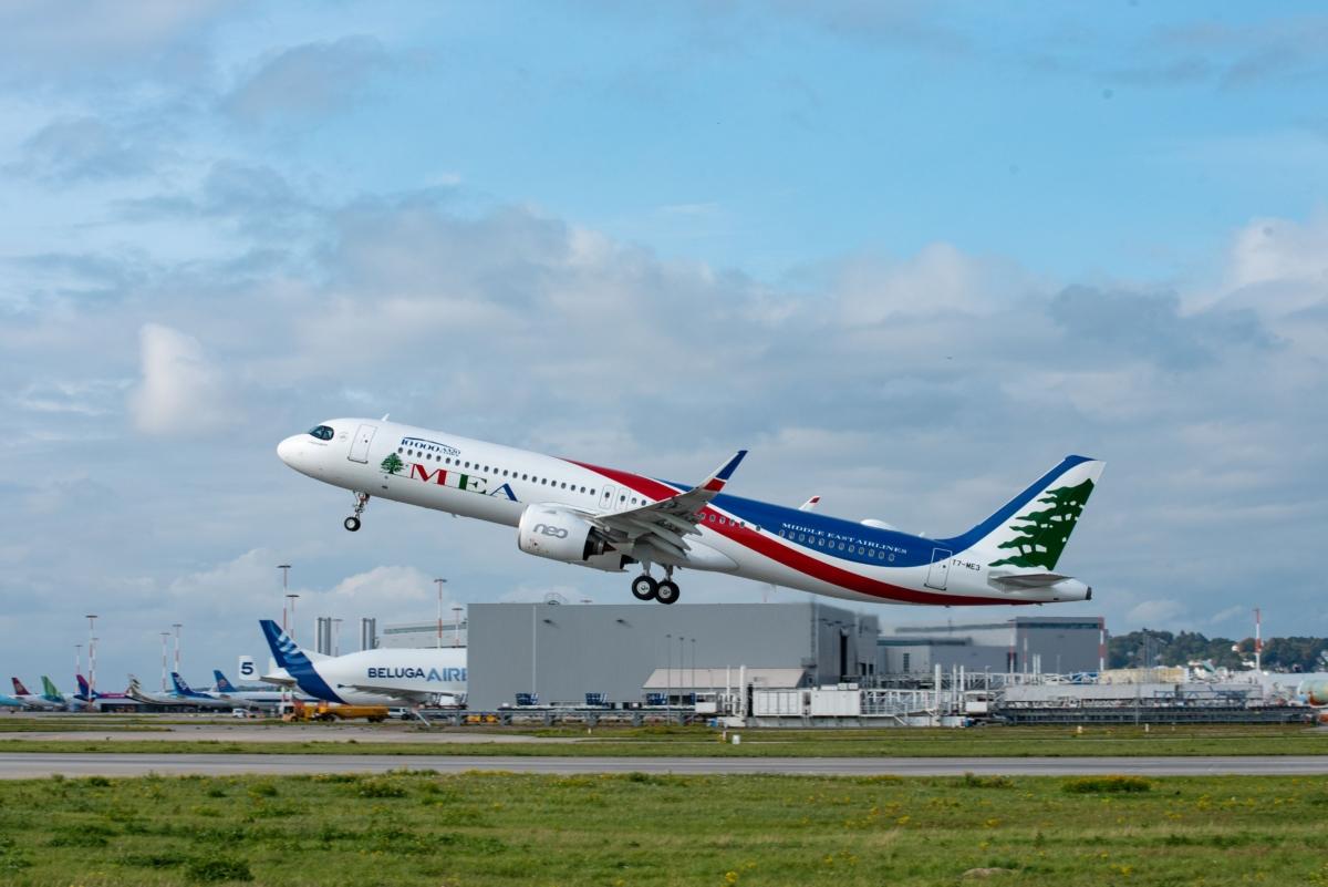 A321neo MEA In Fligh
