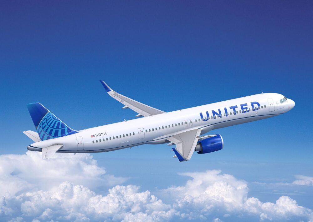 United A321neo