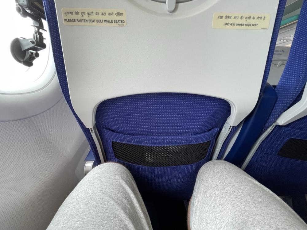 IndiGo A320neo seat pitch