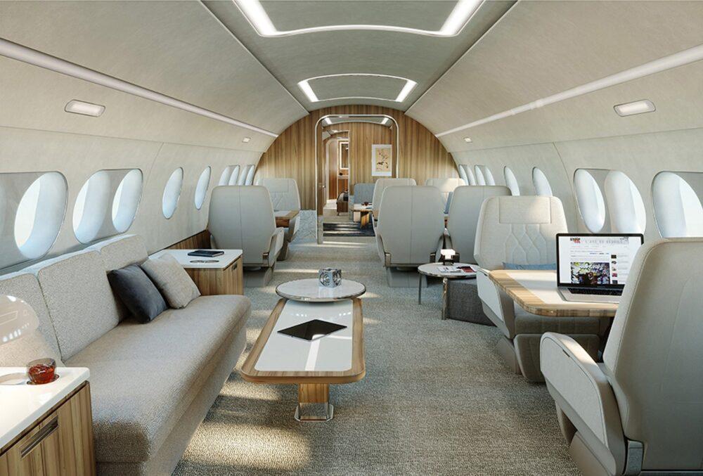 ACJ220 cabin