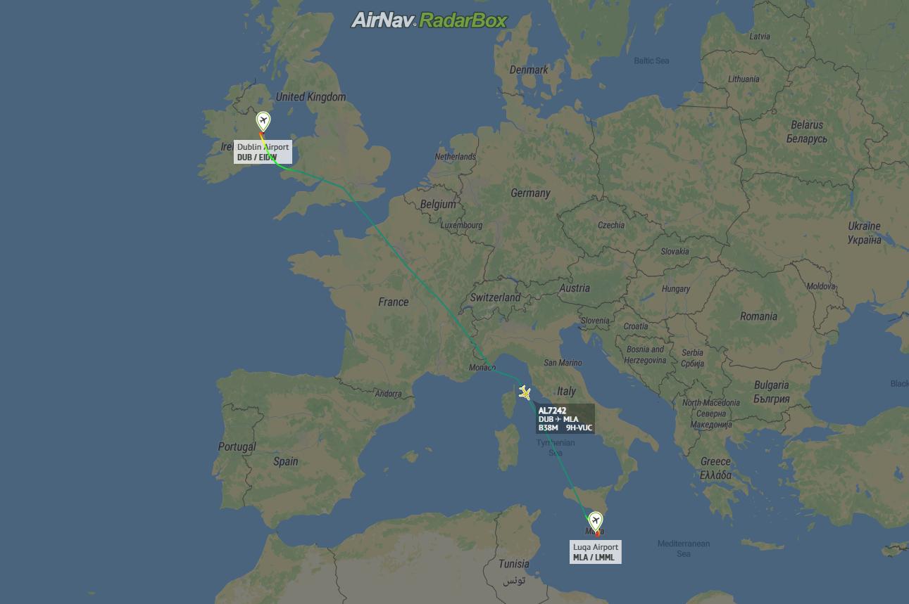Ryanair, Malta Air, Boeing 737 MAX