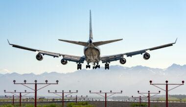 ANC 747 Silouette