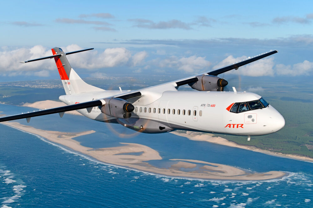 SKY Express Takes Delivery Of Its First ATR 72-600