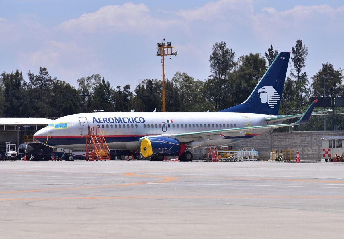 Aeromexico 737-700 scrapped