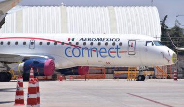Aeromexico E190 scrapped