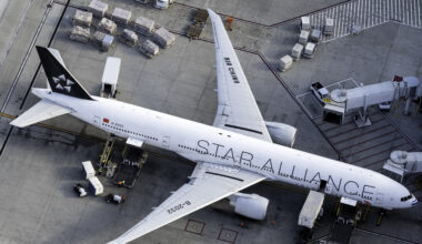 Air China Boeing 777 Star Alliance Livery