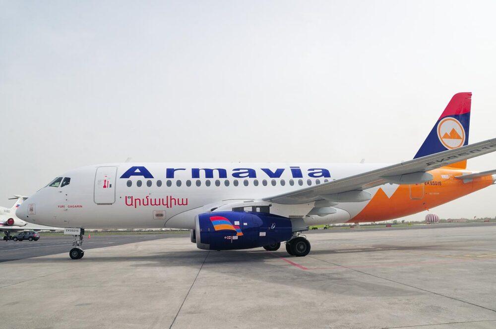 Armavia Superjet