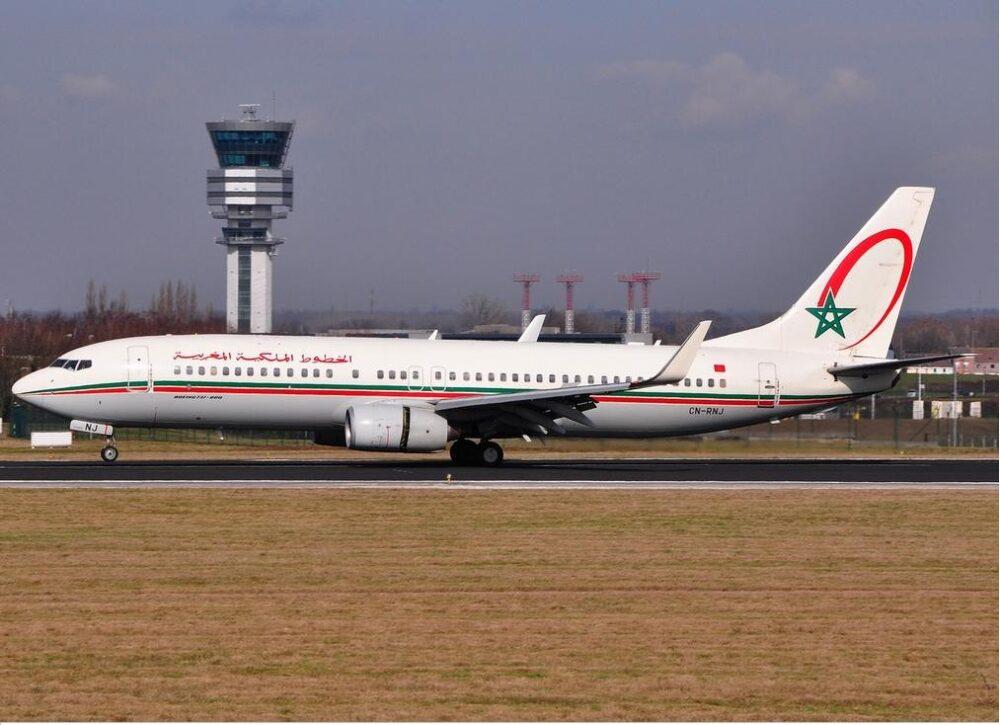 Royal Air Maroc 737-800