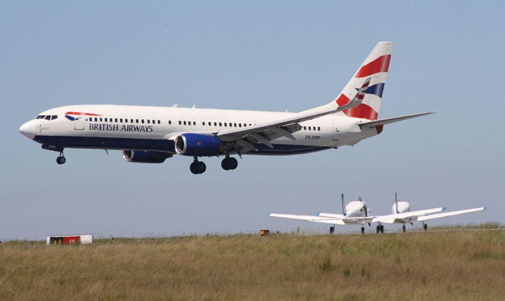 737 Comair British Airways