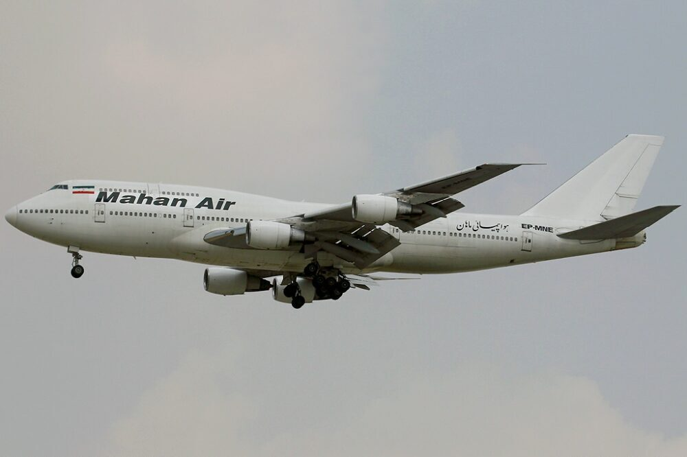 Mahan Air Boeing 747-300M