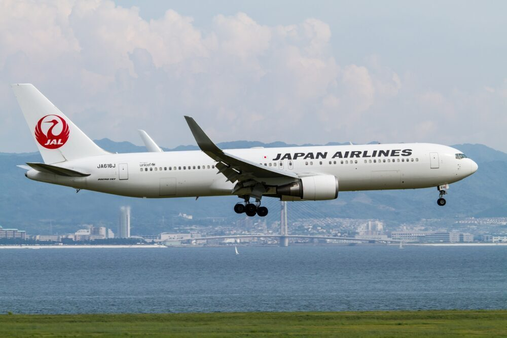Japan Airlines 767
