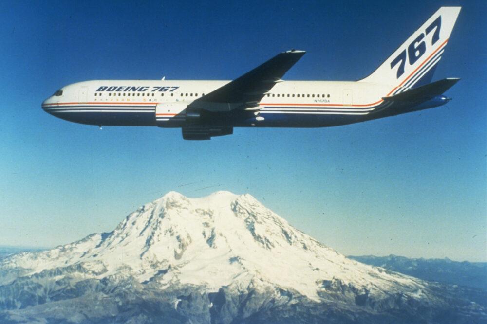 First Boeing 767