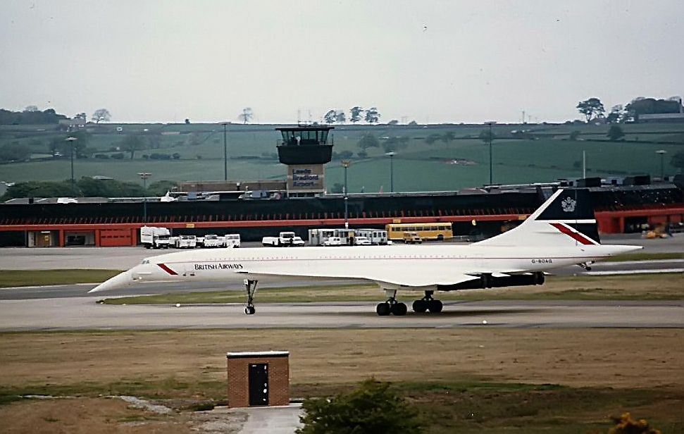 British Airways Concorde Leeds Bradford
