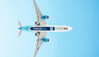 French bee, Airbus A350, New York