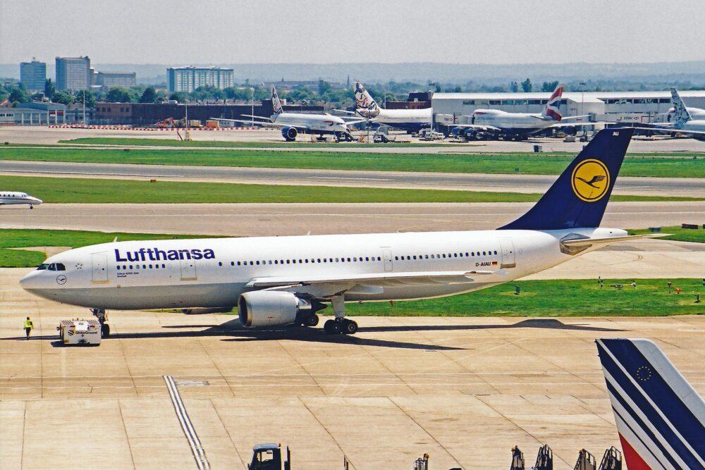 Lufthansa A300