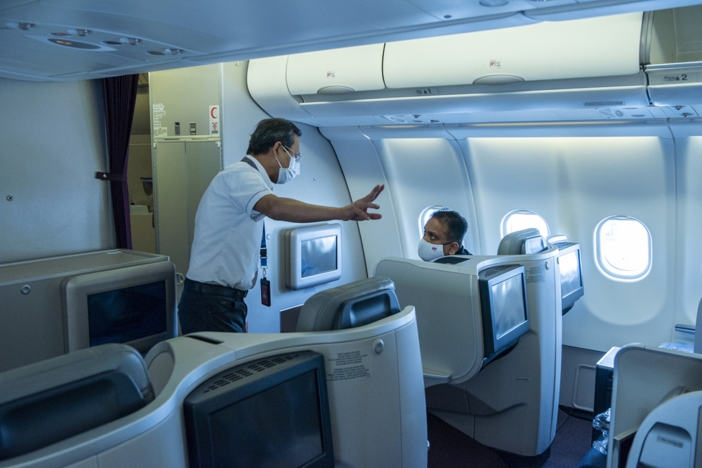 Malaysia Airlines Cabin