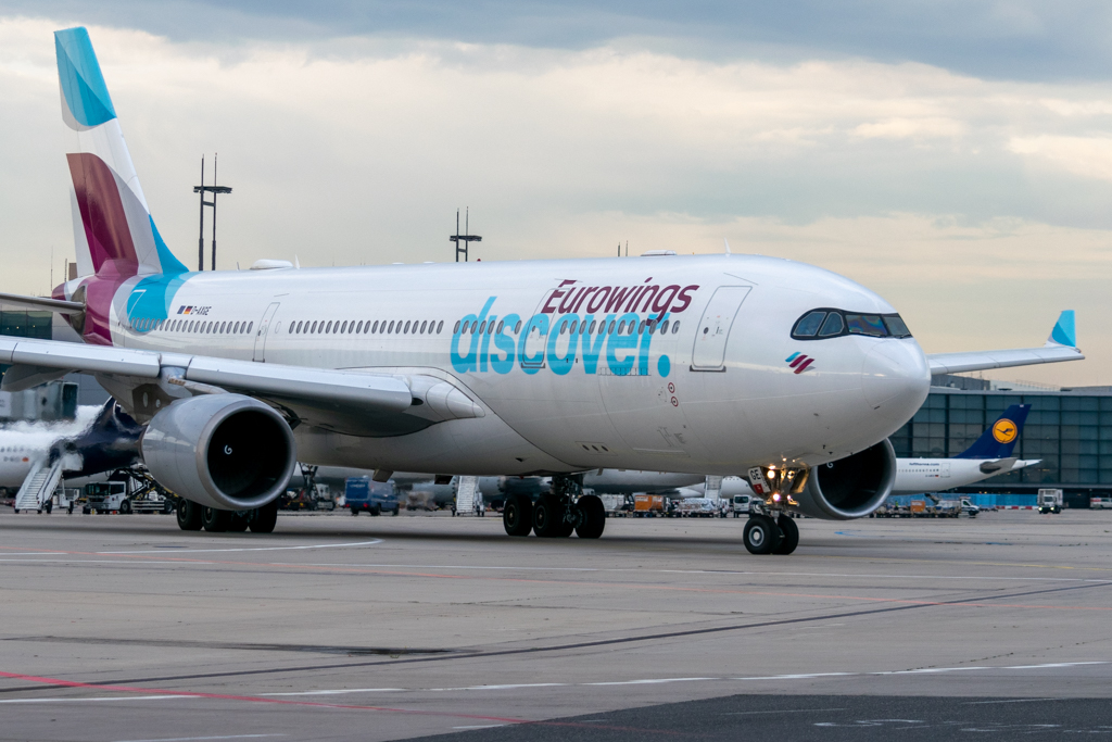 Eurowings Discover, First Flight, Lufthansa Group