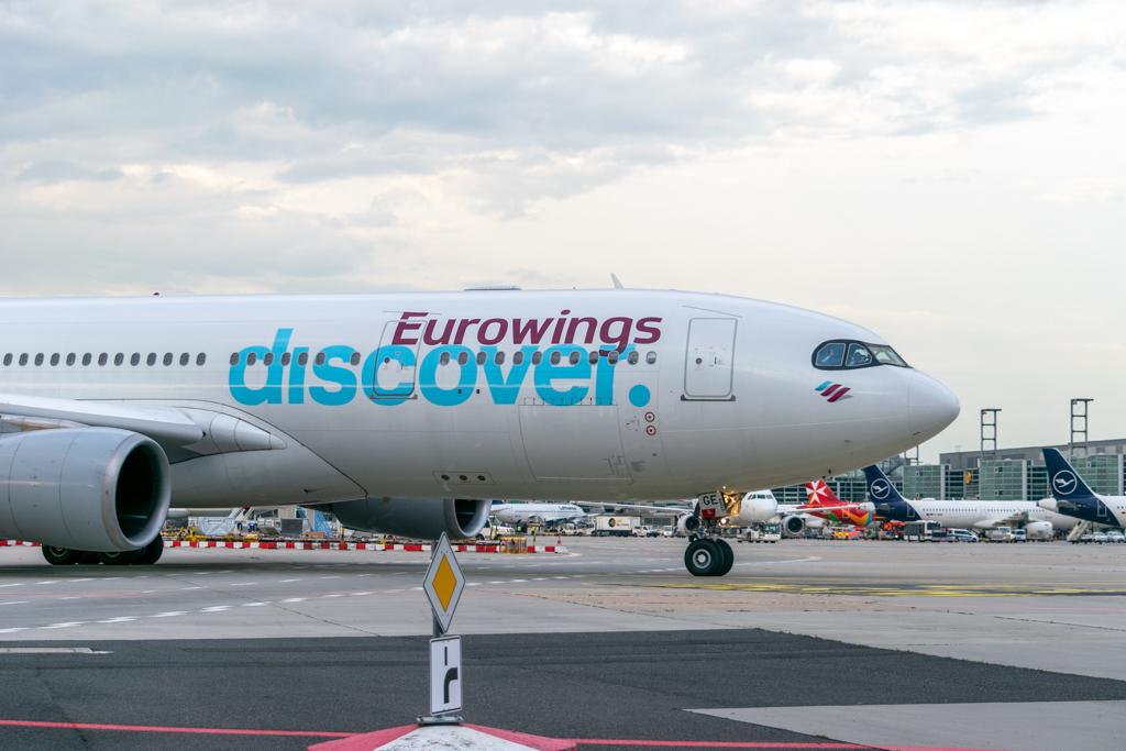 Lufthansa Cargo, Eurowings Discover, Freight