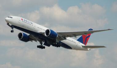 Delta B777-200LR
