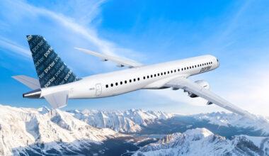 Porter airlines Embraer E195-E2