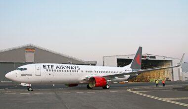 ETF Airways Boeing 737-800 Croatia