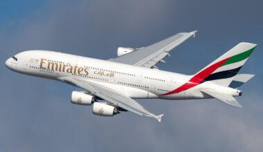 Emirates, Airbus A380, Mauritius