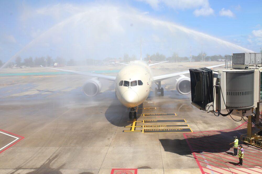 Etihad Airways 787 Phuket