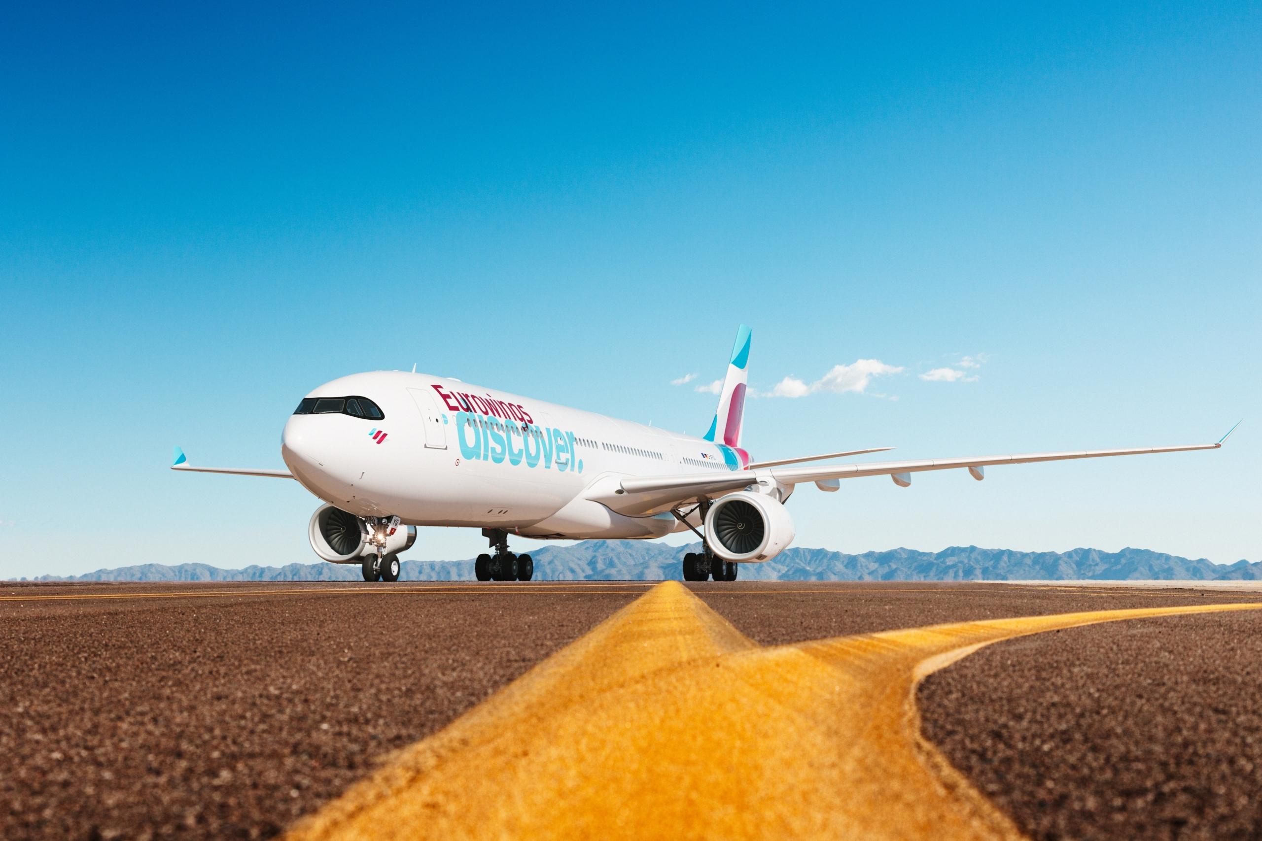 Eurowings Discover, Maiden Flight, Mombasa, Zanzibar