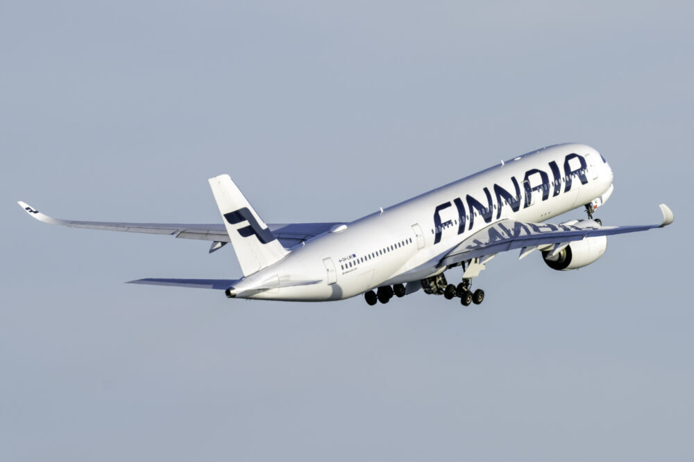 Finnair, Airbus A350, Stockholm