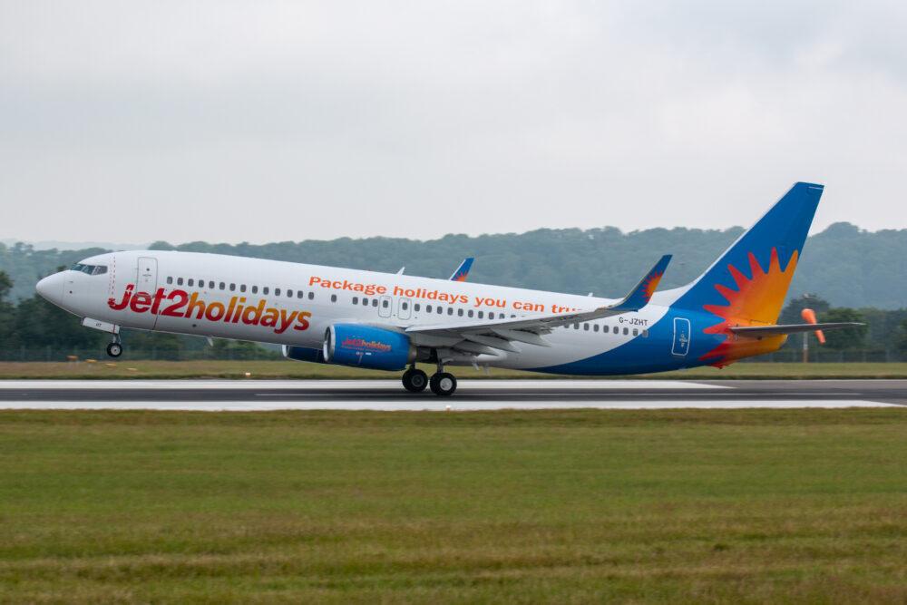 Jet2 first Bristol departure