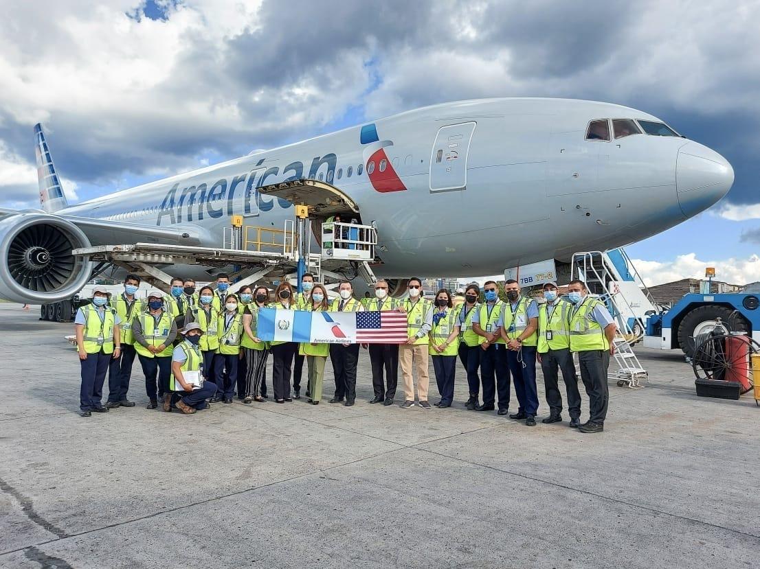 American Airlines, COVID-19 Vaccine, Cargo Flight