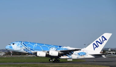 ANA Airbus A380 Getty