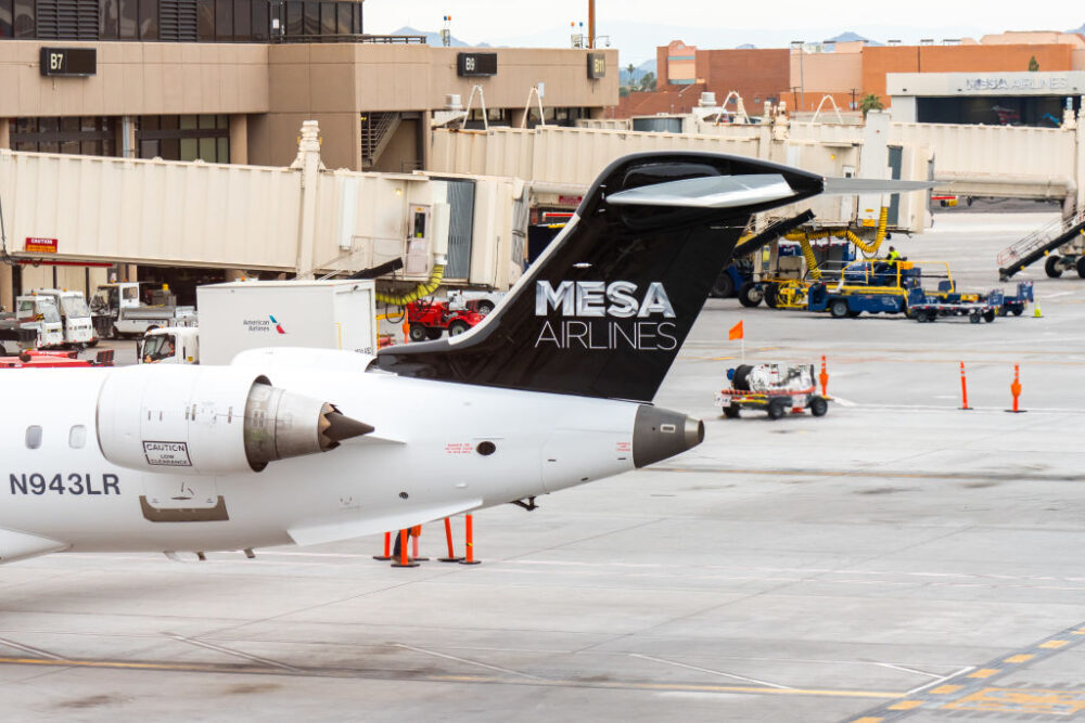 Mesa Airlines Tail Getty