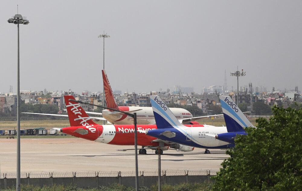 IndiGo AirAsia Air India Delhi Airport