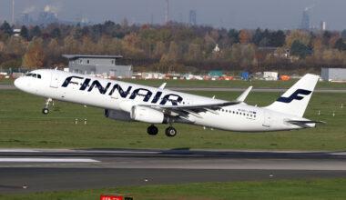 Finnair, Passenger numbers, June 2021