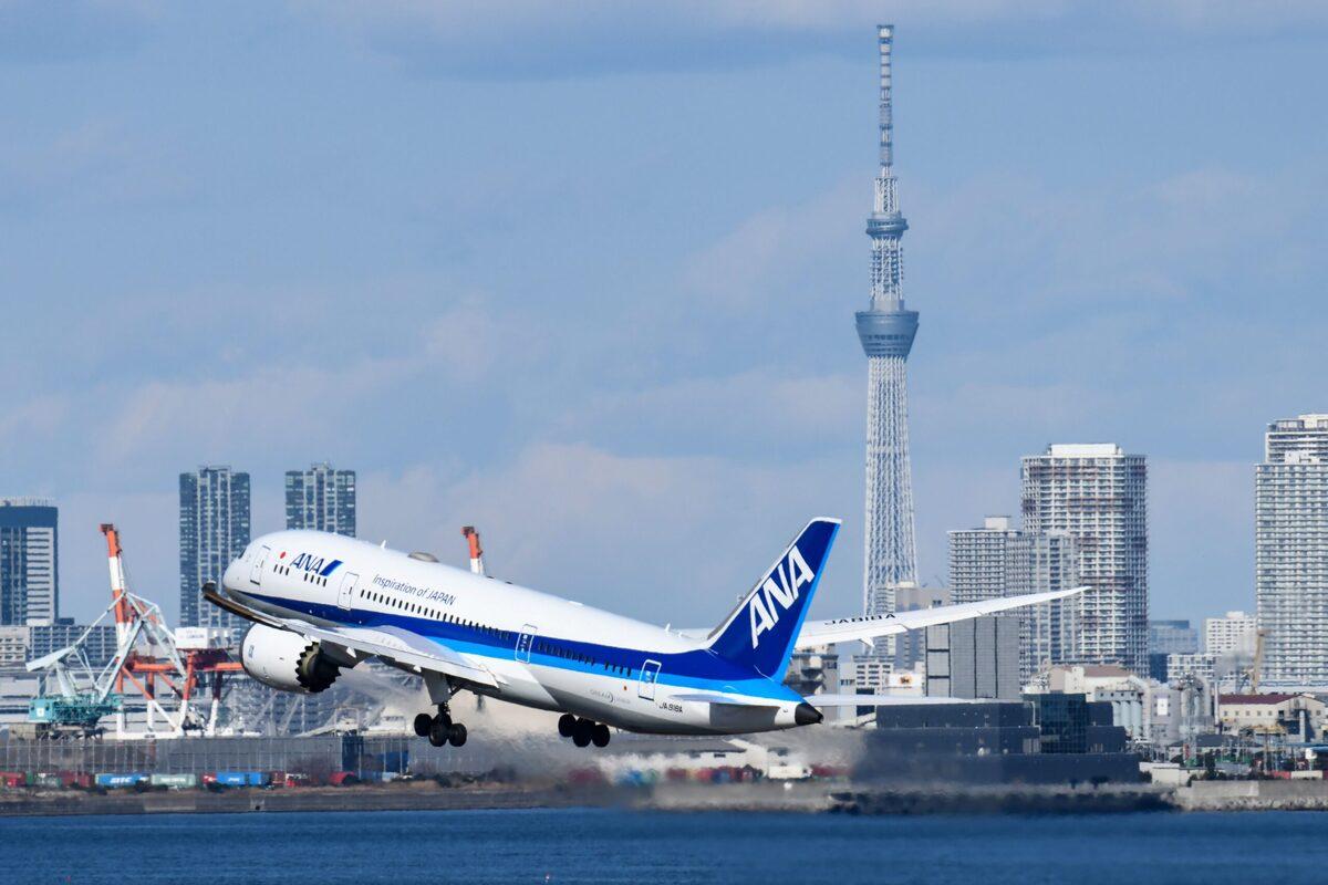 ANA, Boeing 787 Dreamliner, Tokyo Haneda