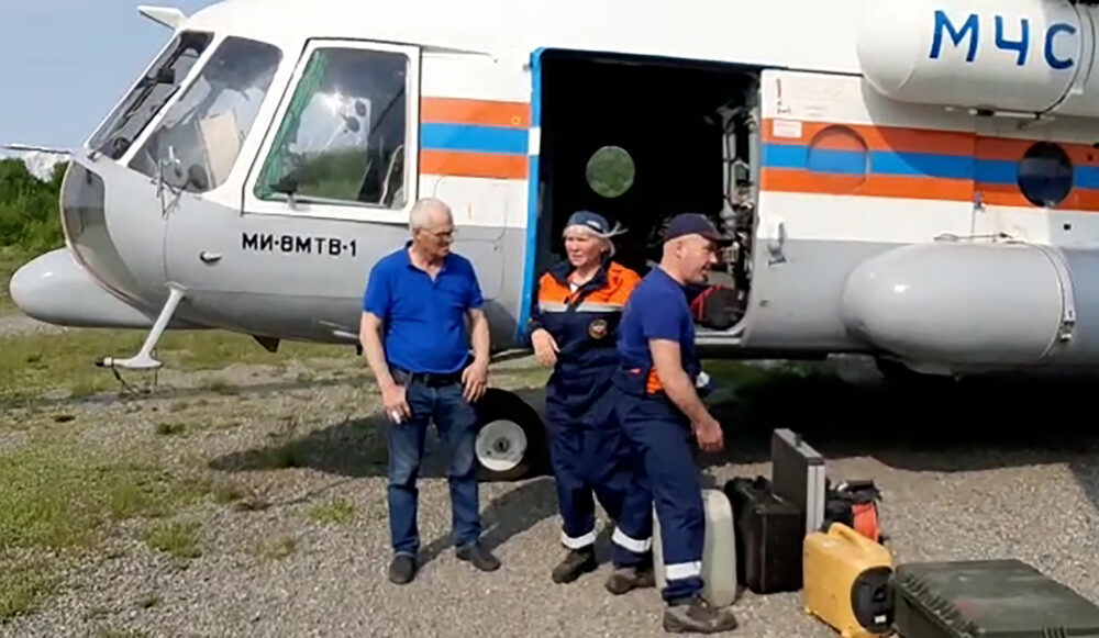 Search and rescue An-24