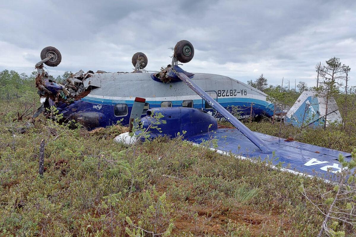 Antonov An-28 passenger plane makes hard landing in Russia's Tomsk Region