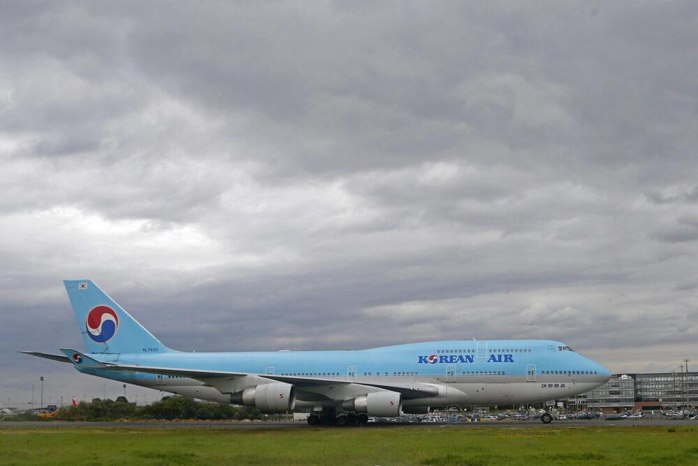 Korean Air Boeing 747 Getty