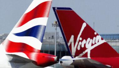 British Airways, Virgin Atlantic, Vaccination Trial