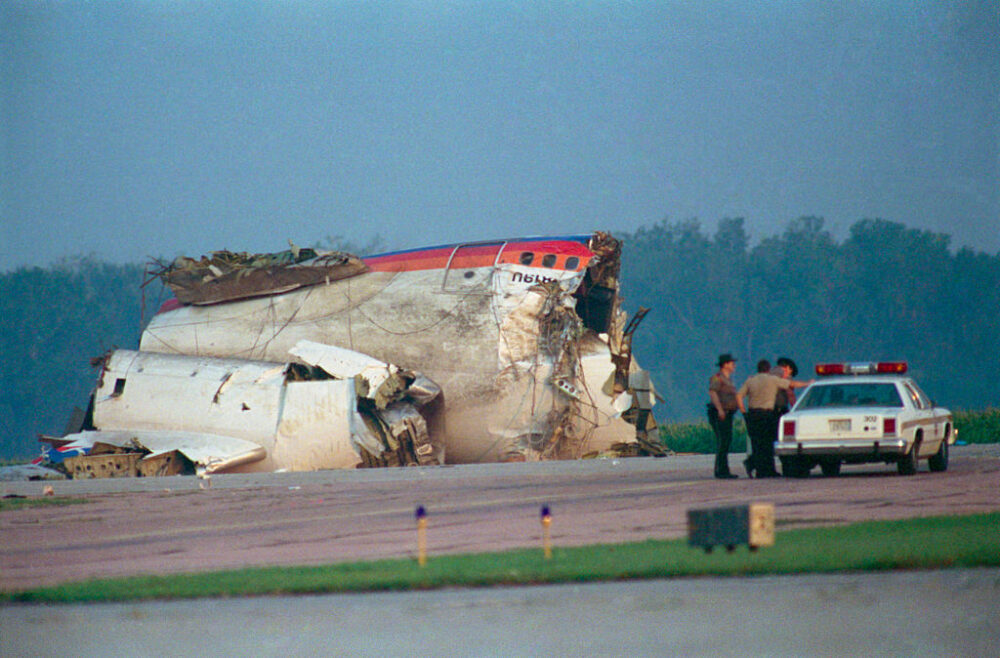 United Airlines Flight 232 Getty