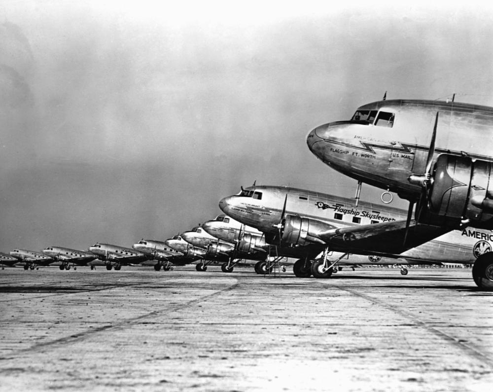 DC-3 fleet