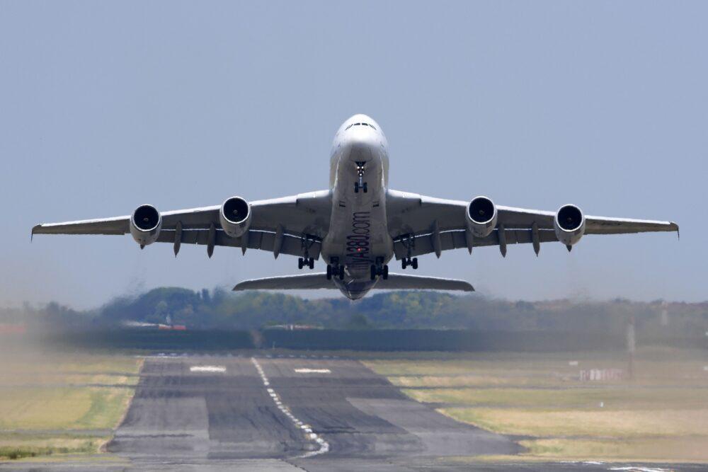 Airbus A380, Emirates, Schedule