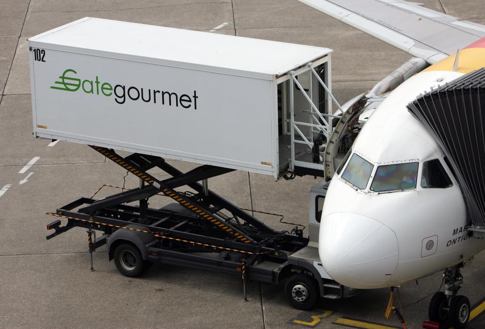 Gategourmet at airport