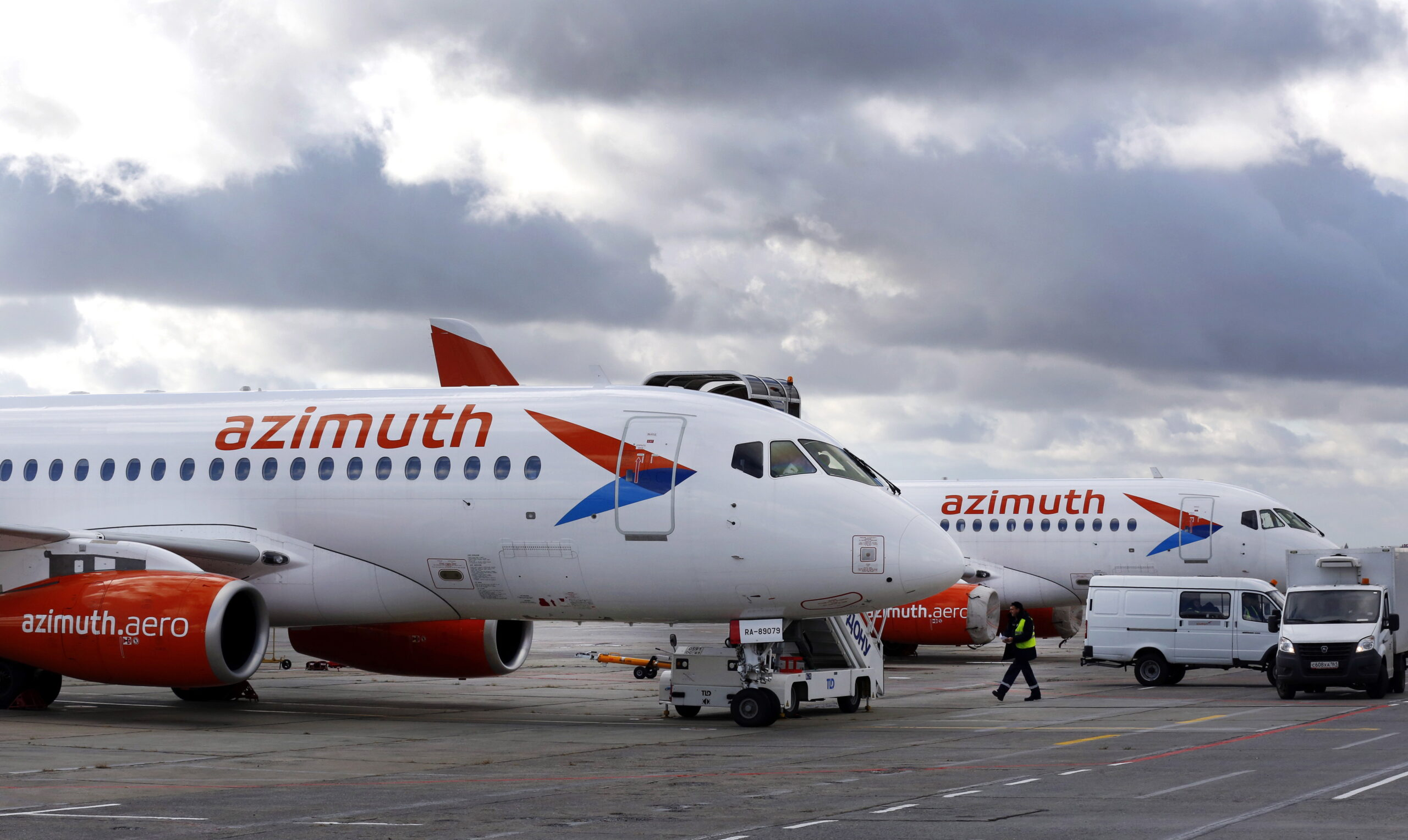 Azimuth Airlines, SSJ100, Airbus A220