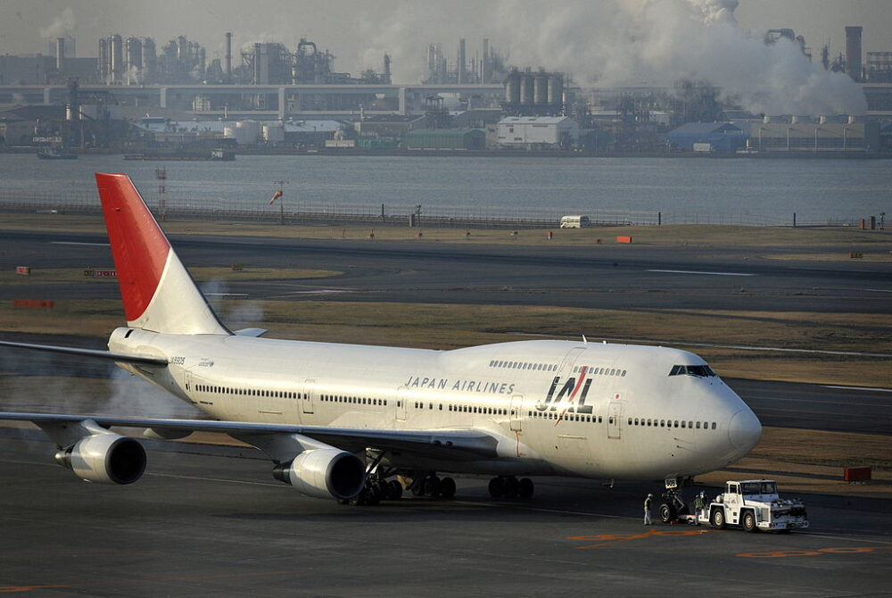 Japan Airlines Boeing 747 Getty