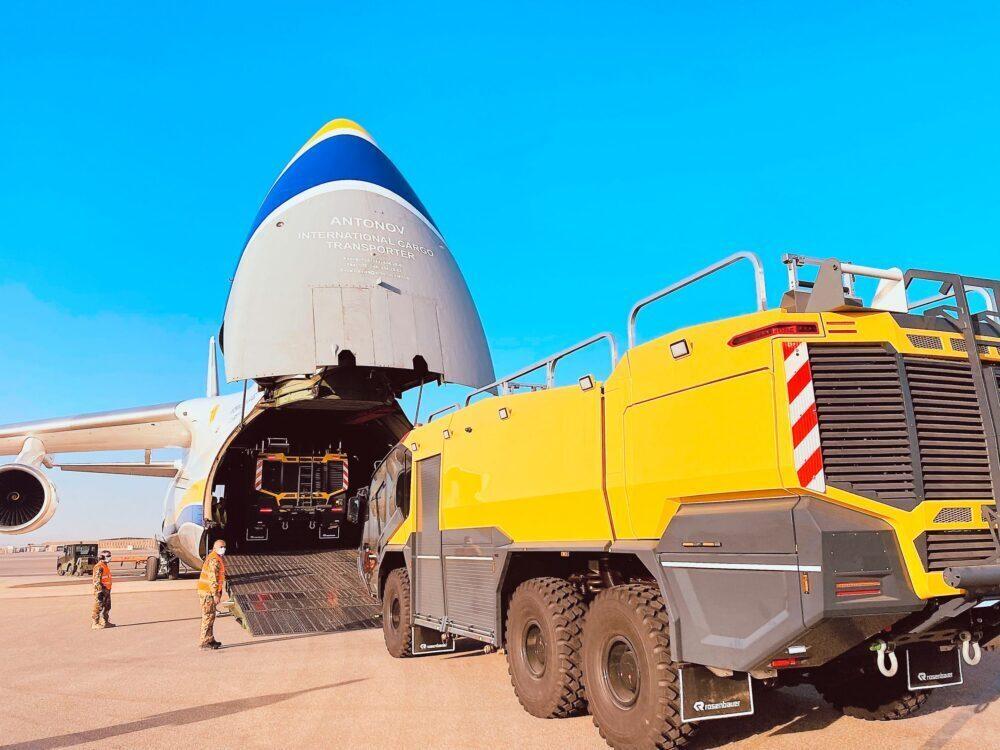 An-124 fire truck