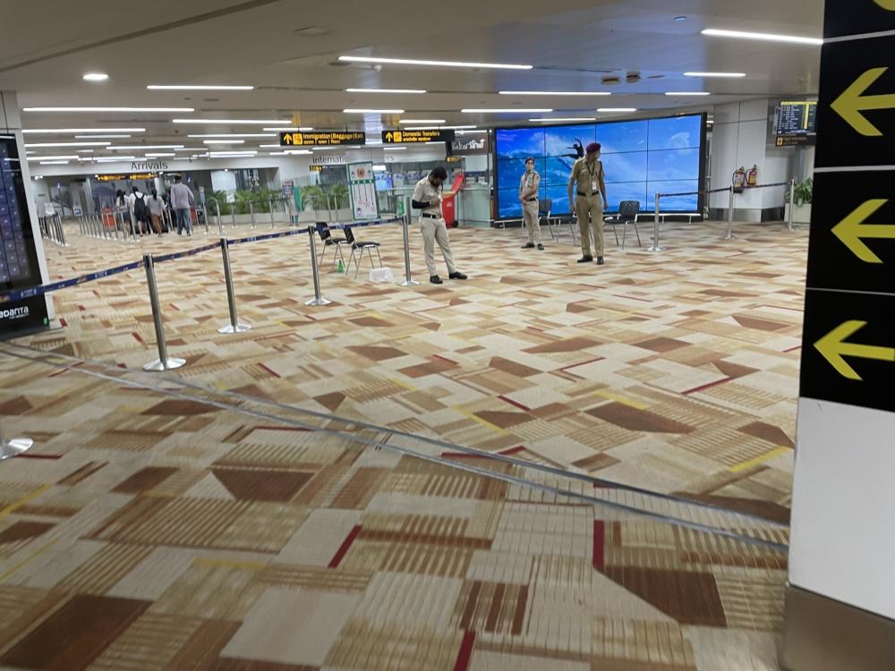 Delhi Airport India Arrival