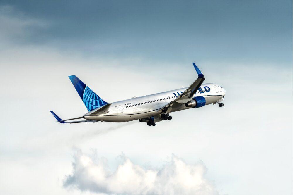 United Boeing 767